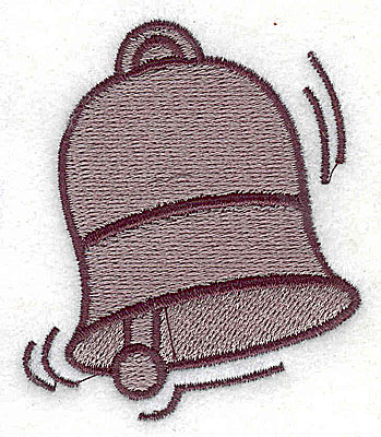 Embroidery Design: Bell 2.13w X 2.50h