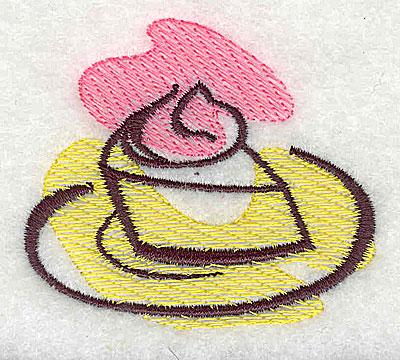 Embroidery Design: Piece of pie 2.38w X 2.06h
