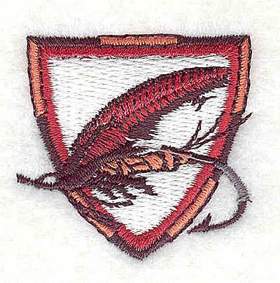 Embroidery Design: Fishing lure 1.50w X 1.44h