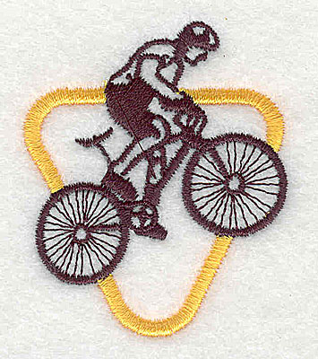 Embroidery Design: BMX Biking 1.69w X 2.06h