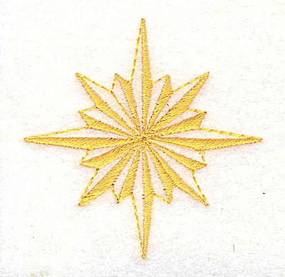 Embroidery Design: Star logo 2.19w X 2.25h