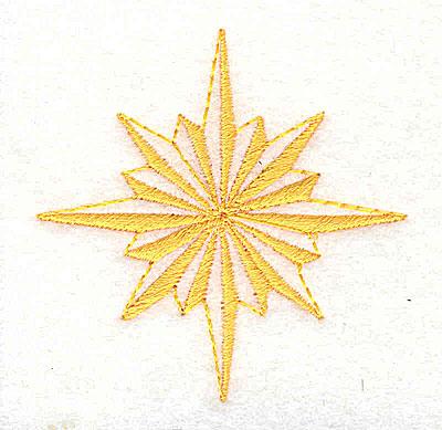 Embroidery Design: Star logo 2.19w X 2.25h