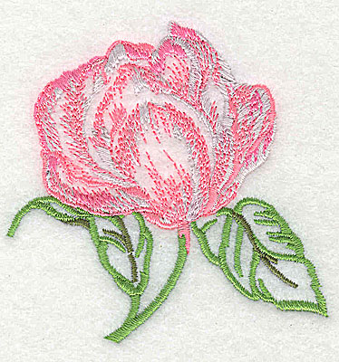 Embroidery Design: Rose  3.00w X 3.00h