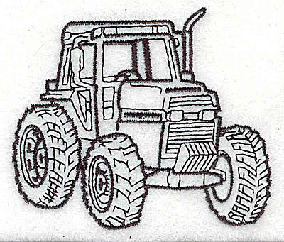 Embroidery Design: Tractor 3.25w X 2.75h