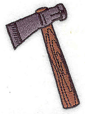 Embroidery Design: Tomahawk 1.69w X 2.38h