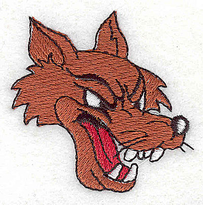 Embroidery Design: Cartoon wolf2.13w X 2.13h