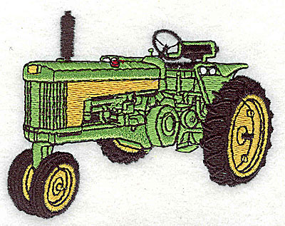 Embroidery Design: Tractor 3.38w X 2.63h