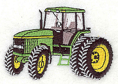 Embroidery Design: Tractor 3.25w X 2.13h