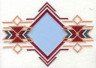 Embroidery Design: Western design applique 7.94w X 5.62h