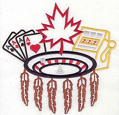 Amazing designs casino embroidery greek isles hotel and casino las vegas