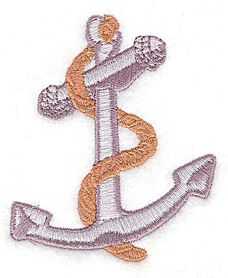 Embroidery Design: Anchor 2.44w X 2.94h