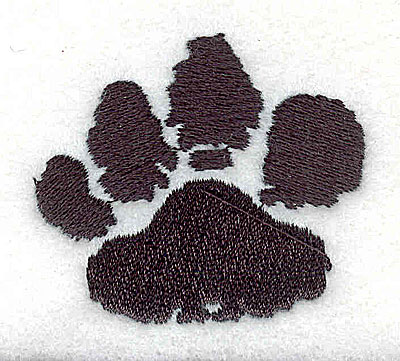 Embroidery Design: Paw 1.94w X 1.69h