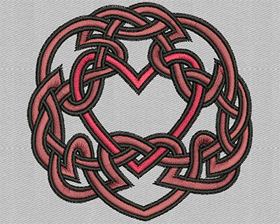 Embroidery Design: Heart Design 2.75w X 2.69h