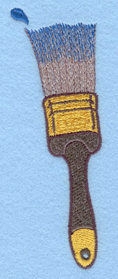 Embroidery Design: Paint Brush Large5.84w X 2.12h