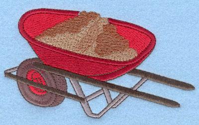 Embroidery Design: Wheelbarrow Large5.30w X 3.12h