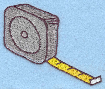Embroidery Design: Tape Measure Large 3.76w X 3.16h