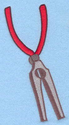 Embroidery Design: Pliers Large2.85w X 5.67h