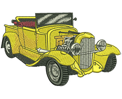 Embroidery Design: Ford Convertible Lg 4.52w X 2.79h