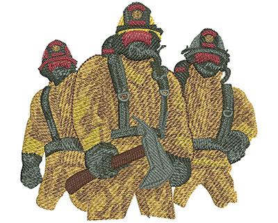 Embroidery Design: Firefighter Maltese Cross Lg 4.47w X 4.12h