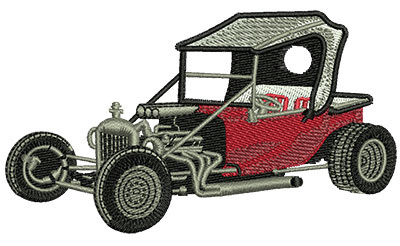 Embroidery Design: Red Bucket Car Med 4.01w X 2.28h
