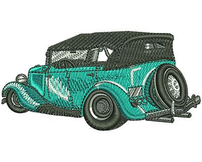 Embroidery Design: Classic Convertible Sm 3.46w X 1.74h