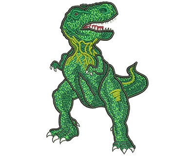 Embroidery Design: Muscular Rex Lg 3.01w X 4.53h