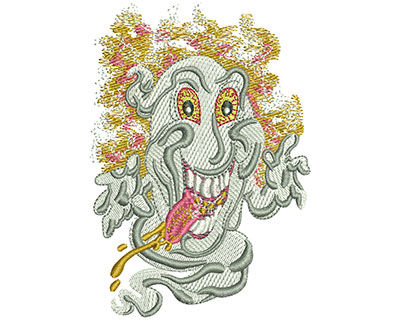 Embroidery Design: Ghost Lg 2.80w X 4.01h