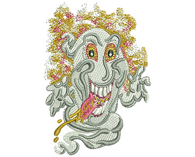Embroidery Design: Ghost Med 2.46w X 3.51h