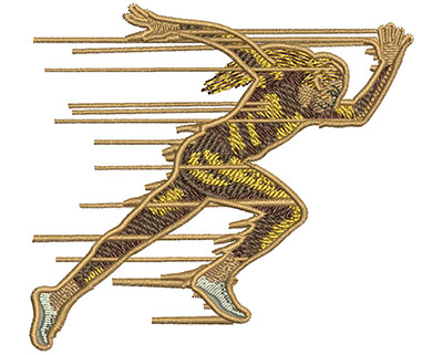 Embroidery Design: Sprinter Sm 3.45w X 3.13h