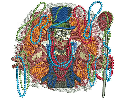 Embroidery Design: Mardi Gras Baron Med 5.24w X 5.00h