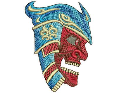 Embroidery Design: Samurai Lg 2.57w X 3.52h