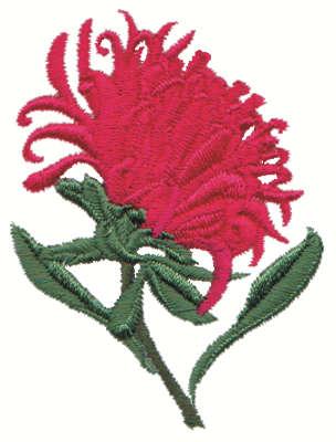"Embroidery Design: Mum2.12"" x 2.00"""