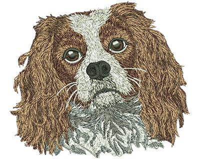 Embroidery Design: Cavalier King Charles Spaniel Lg 4.51w X 4.00h