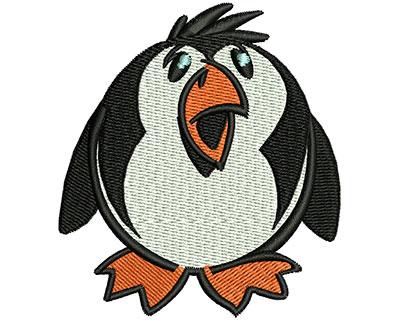 Embroidery Design: Cartoon Penguin  2.70w X 3.01h