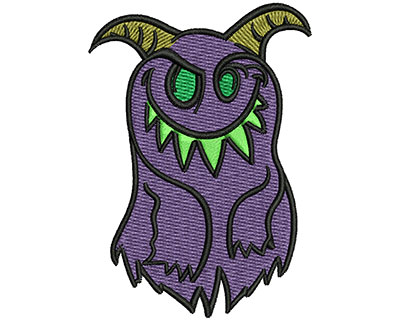 Embroidery Design: Silly Monster 2.13w X 3.01h