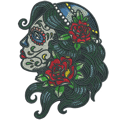 Embroidery Design: Gypsy Queen 4.52w X 6.02h