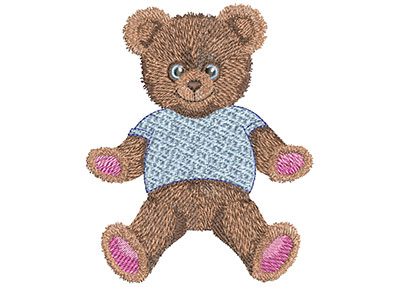 Embroidery Design: Teddy Bear Hugs Lg 3.88w X 4.48h