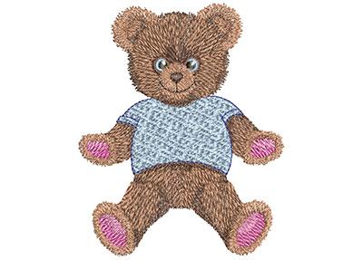 Embroidery Design: Teddy Bear Hugs Med 3.44w X 3.99h