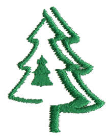 "Embroidery Design: Evergreen1.20"" x 1.49"""