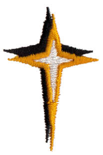 """Embroidery Design: Star1.17"""" x 1.76"""""""