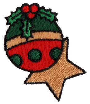 "Embroidery Design: Ornaments1.74"" x 1.87"""