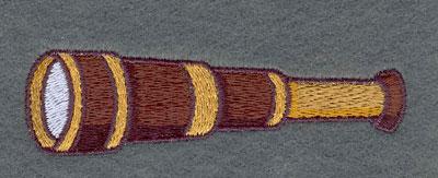 Embroidery Design: Telescope3.81w X 1.07h