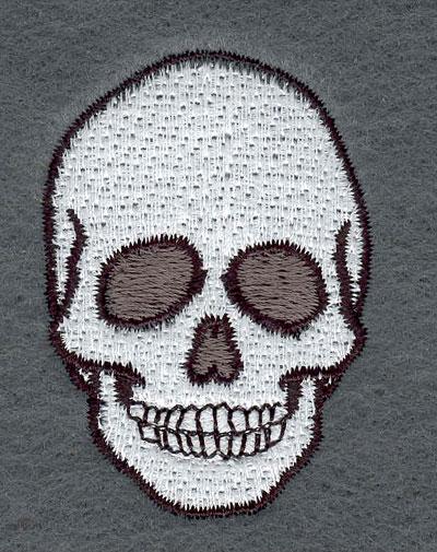 Embroidery Design: Skull Small1.57w X 2.22h