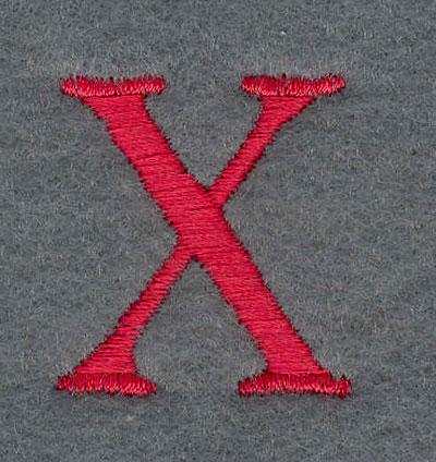 Embroidery Design: X1.10w X 1.26h