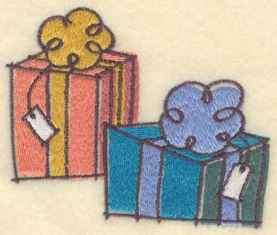 Embroidery Design: Presents3.91w X 3.24h