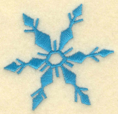 Embroidery Design: Fancy Snowflake2.07w X 2.00h