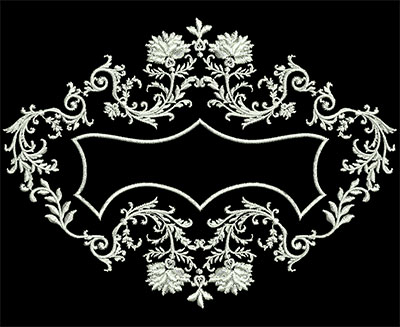Embroidery Design: Heirloom Accents 6 Sm 6.08w X 4.50h
