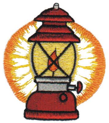 "Embroidery Design: Lantern2.79"" x 3.12"""