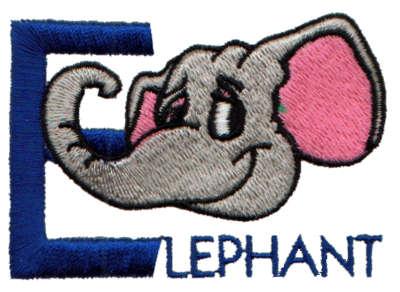 "Embroidery Design: Kiddie Alphabet E2.86"" x 2.01"""
