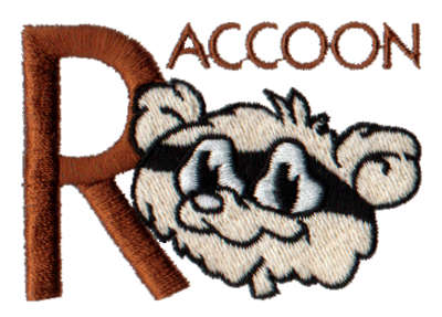 """Embroidery Design: Kiddie Alphabet R1.84"""" x 1.98"""""""